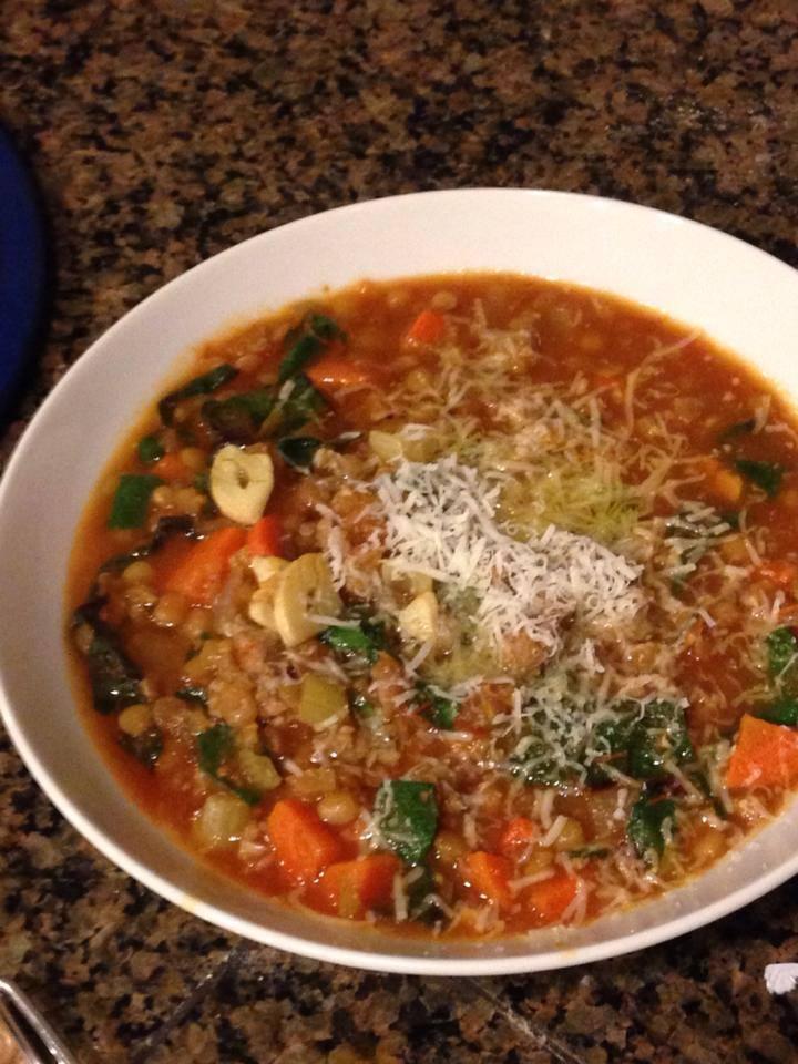 Smitten Kitchen Sausage Chard Soup