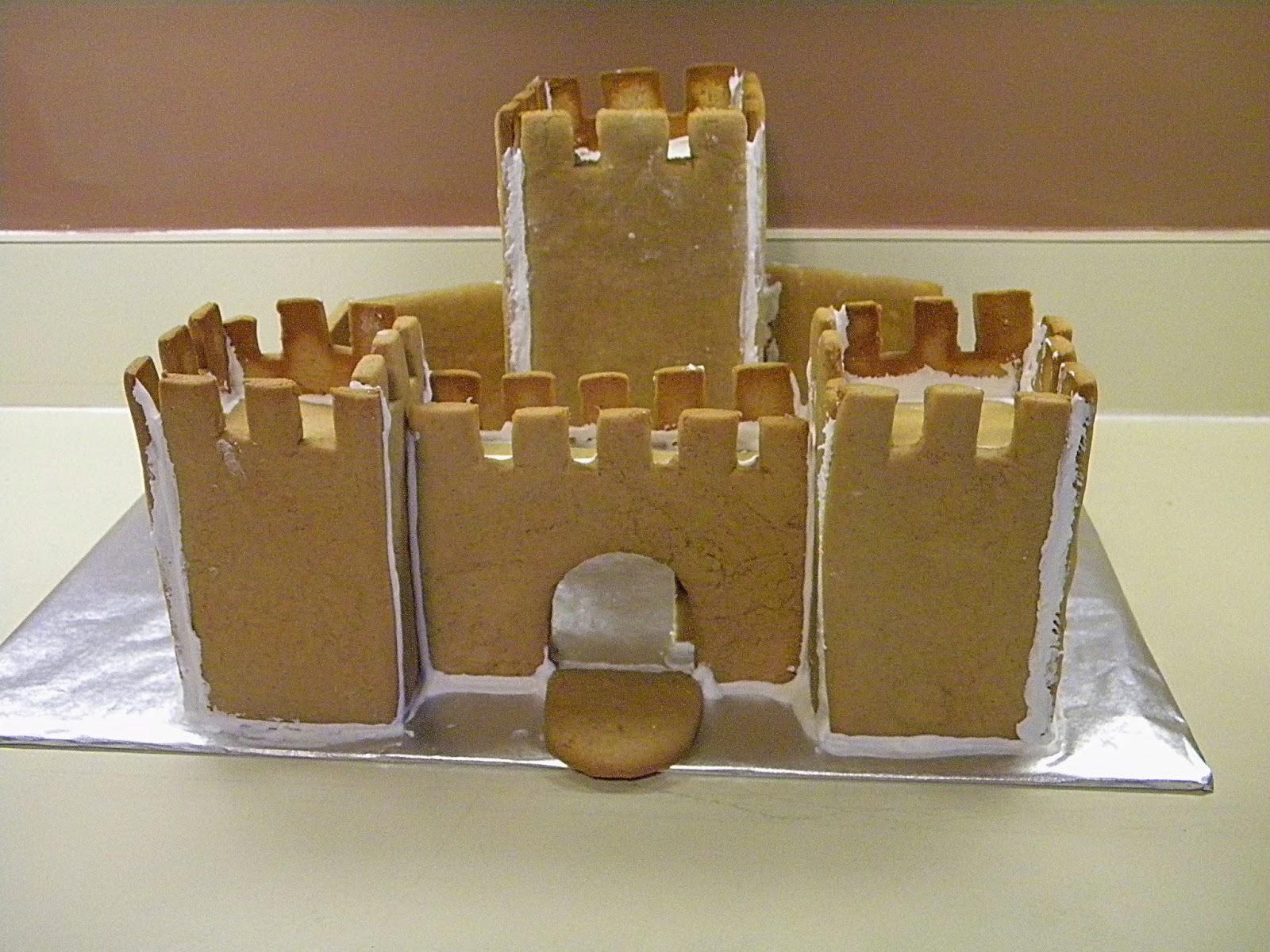 Gingerbread Castle Templates