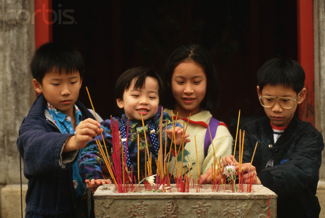 Another Chinese Muallaf: Joss Stick, Funeral, Chinese Tradition