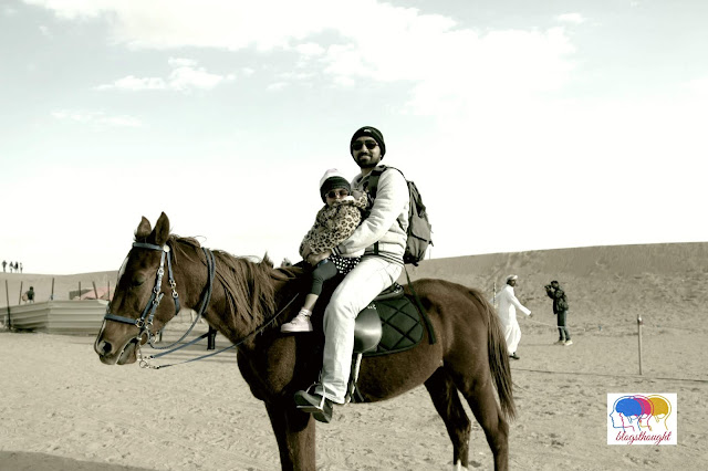Horse ride Dubai