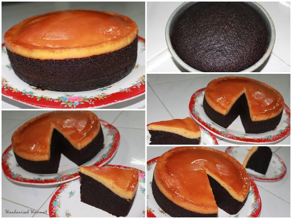 resepi kek coklat cheese noxxa kek lapis keju coklat  dayangjackblogspotcom Resepi Kek Kukus Guna Periuk Noxxa Enak dan Mudah