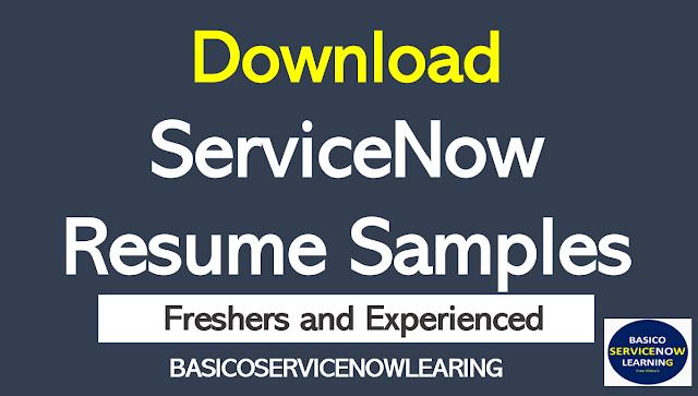 servicenow resume sample, servicenow resume download, servicenow fresher resume, download servicenow cv