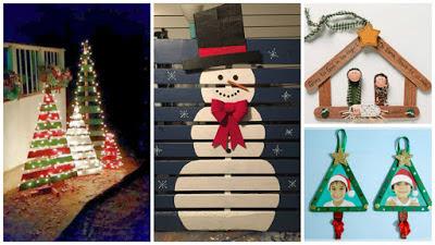 manualidades-navideñas-madera