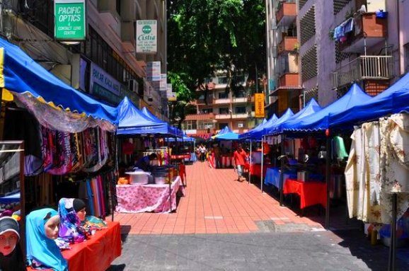 Jalan Masjid India & Jalan TAR Tempat shopping di kuala lumpur menarik