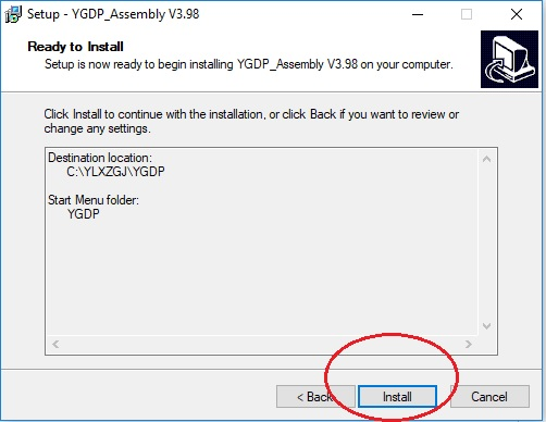 Instal YGDP Start