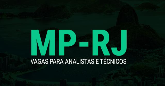 MP - RJ 2019: Concurso para Analista, Técnico e Oficial