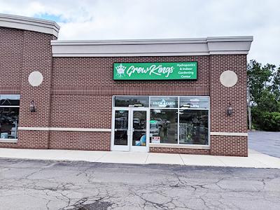 Indoor garden supply store near Canton, Michigan