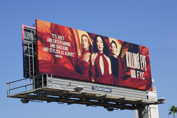 Killing Eve 2020 Emmy FYC billboard