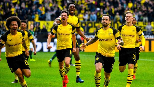 Confirmed LineUps Borussia Dortmund vs SC Paderborn 07
