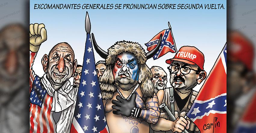 Carlincaturas Domingo 30 Mayo 2021 - La República