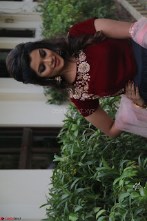 Actress Aathmika in lovely Maraoon Choli ¬  Exclusive Celebrities galleries 041.jpg