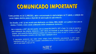 Record, SBT e Rede TV! retiram sinal da tv por assinatura