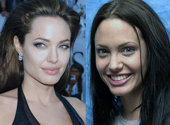 Angelina Jolie Tanpa Make Up