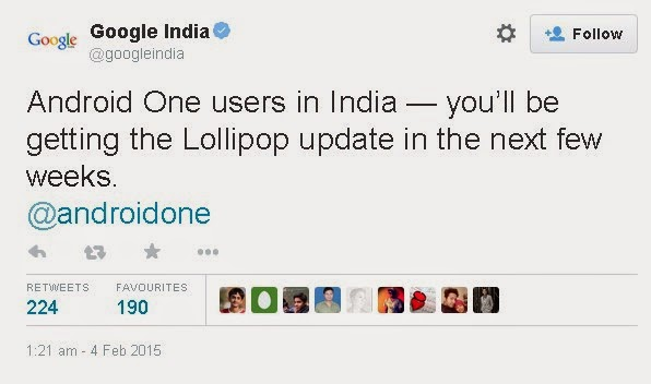 Android One Users In India
