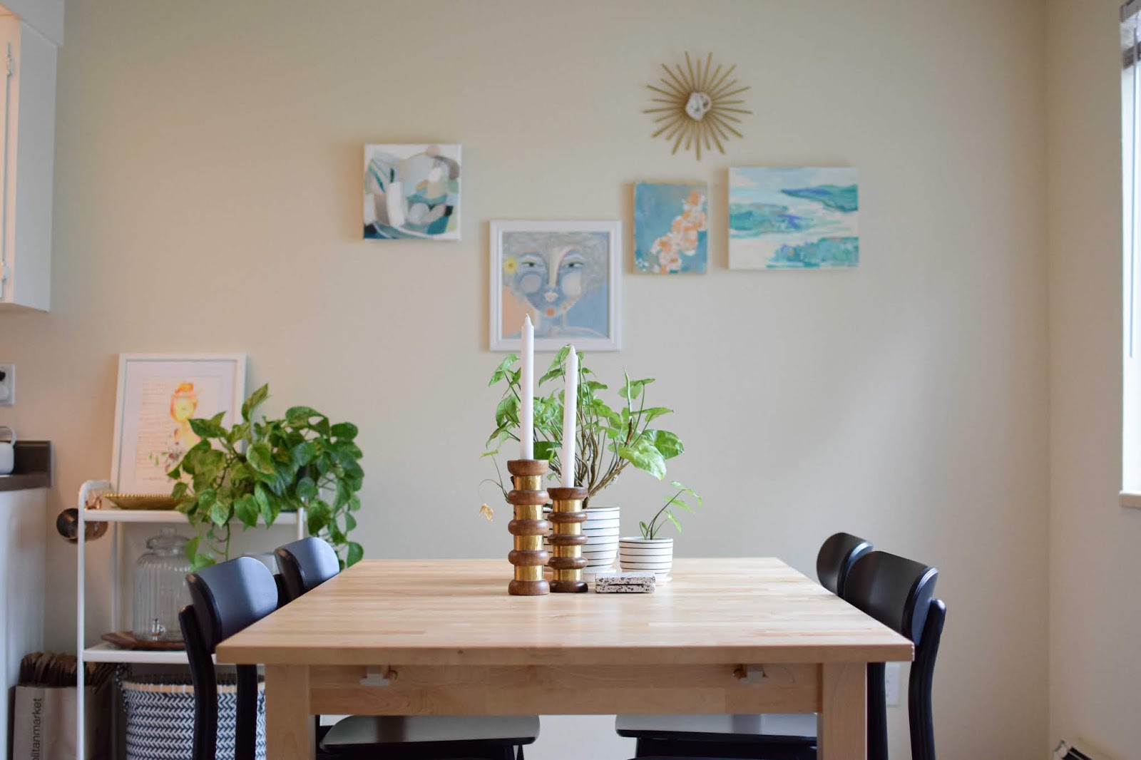 My art, plants, and home decor