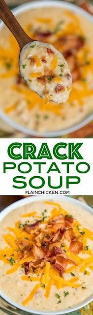 Crαck Potαto Soup