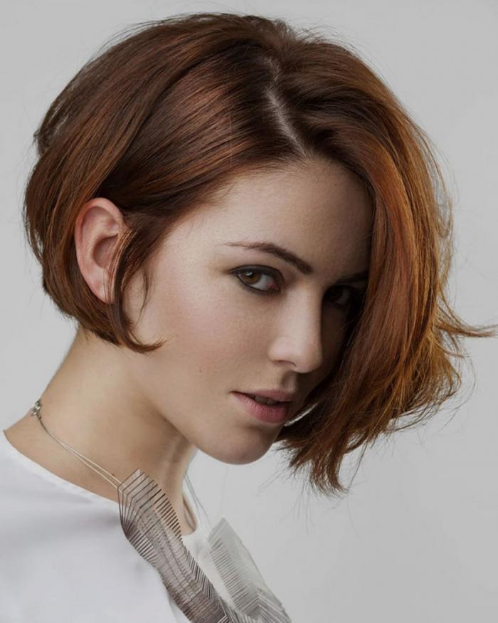Short bob haircuts - 2020. Femininity first