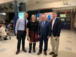 On Thursday we were joined by Mr. Tim Nicolette, Executive Director of the Mass Charter School Organization, State Representative Jeffrey Roy and Mr. Jamie Hellen Franklin Town Administrator