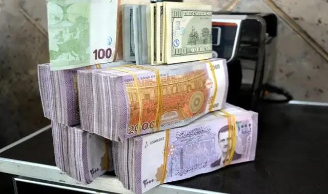 سعر صرف الليرة السورية أمام العملات الأجنبية والذهب الاثنين يناير 11/1/2021