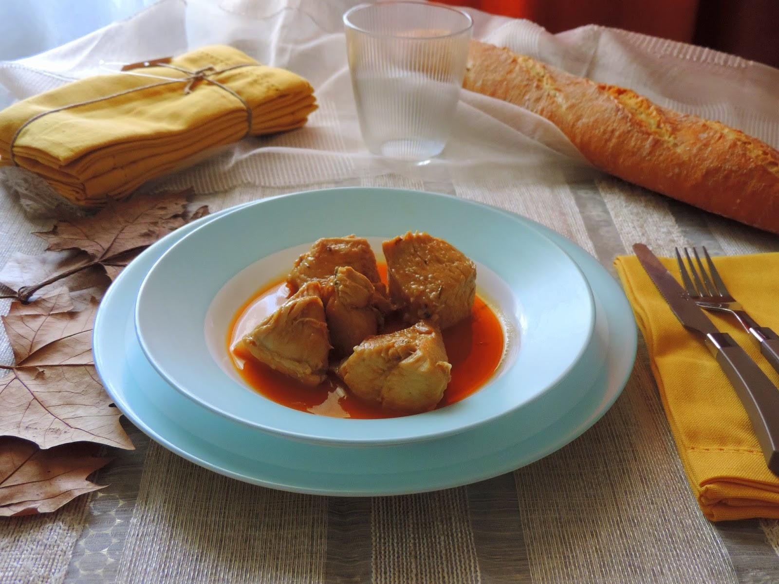 Cocinando con las chachas pollo en salsa - Como se hace pollo en salsa ...