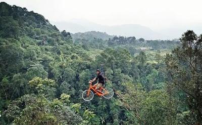 Rute menuju Ranggon Hills