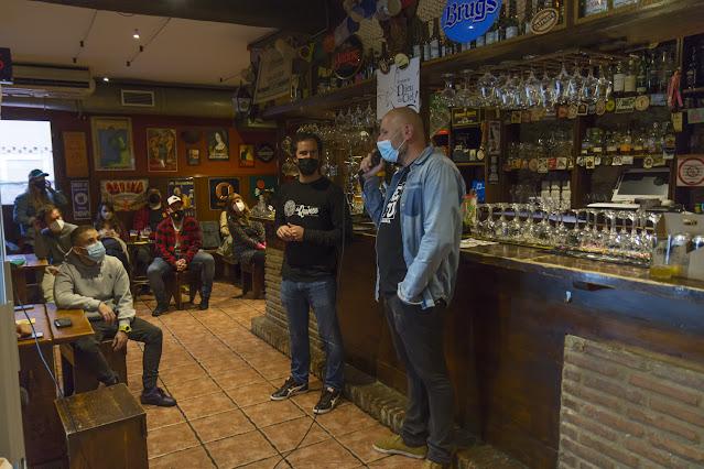 El Cabanon - Prueba de Cerveza La Quince con La Calenda