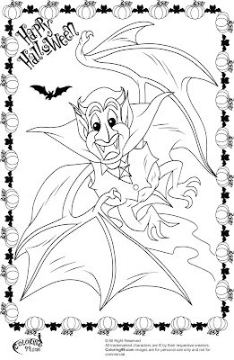 halloween vampire bat coloring pages | Human My Little Pony Coloring Pages – Colorings.net