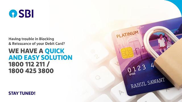 नमस्कार दोस्तों आज हम आपको बताएंगे कि आपका अगर SBI Debit Card खो गया है तो आप इसे कैसे Block करें और फिर दोबारा SBI Debit Card मंगाने के लिए आवेदन कैसे करें