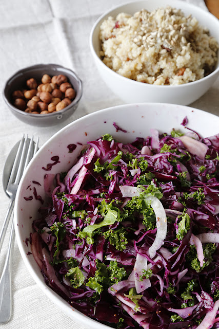 Winter-Cabbage-Salad-and-Fruity-Quinoa