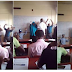 STUDENT WICKED OO!! You Can't Believe What They Did To This UNILAG Lecturer After Asking Students To Kneel Down And Raise Up Their Hands. (See Photos)