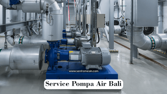 Service Pompa Air Bali