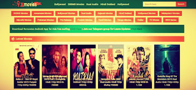 9xMovies – Download Bollywood Movies, Hollywood Hindi Dubbed Movies 2019