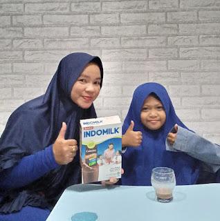 Indomilk susu bubuk adalah susu bubuk untuk anak usia di atas 1 tahun