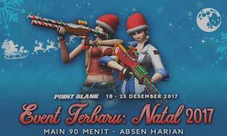 Informasi Event PB Garena 19 Desember 2017 Menyambut Natal Tahun 2017