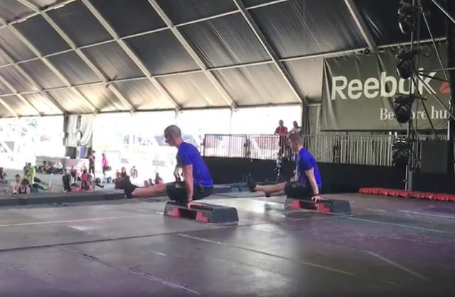 Grande lezione di Lorenzo Sommo e Nicola Rossi alla Reebok Training Experience!