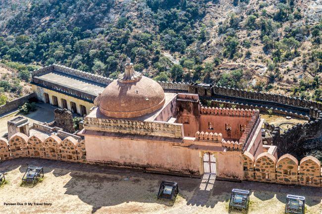 Birth Place of Maharana Pratap as seen from Badal Mahal