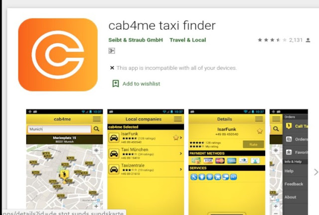 Best Utility Apps For Women Cab4me