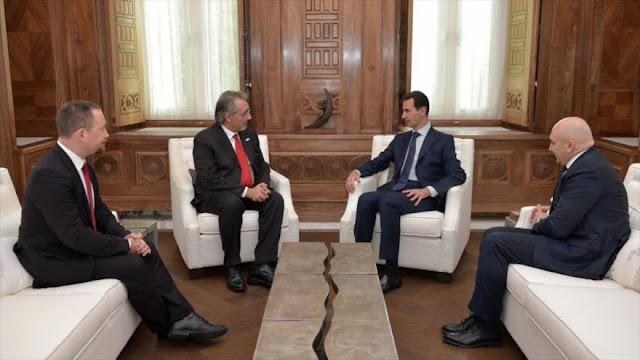 Al-Asad: Cerco económico intensifica sufrimiento del pueblo sirio