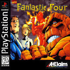 Fantastic Four - PS1 - ISOs Download