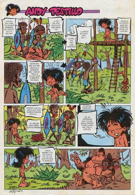 Andy Pestillo, Pulgarcito nº 2 (Ediciones B, 1987)