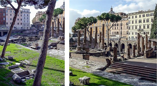 Ruínas do Largo de Torre Argentina, Roma