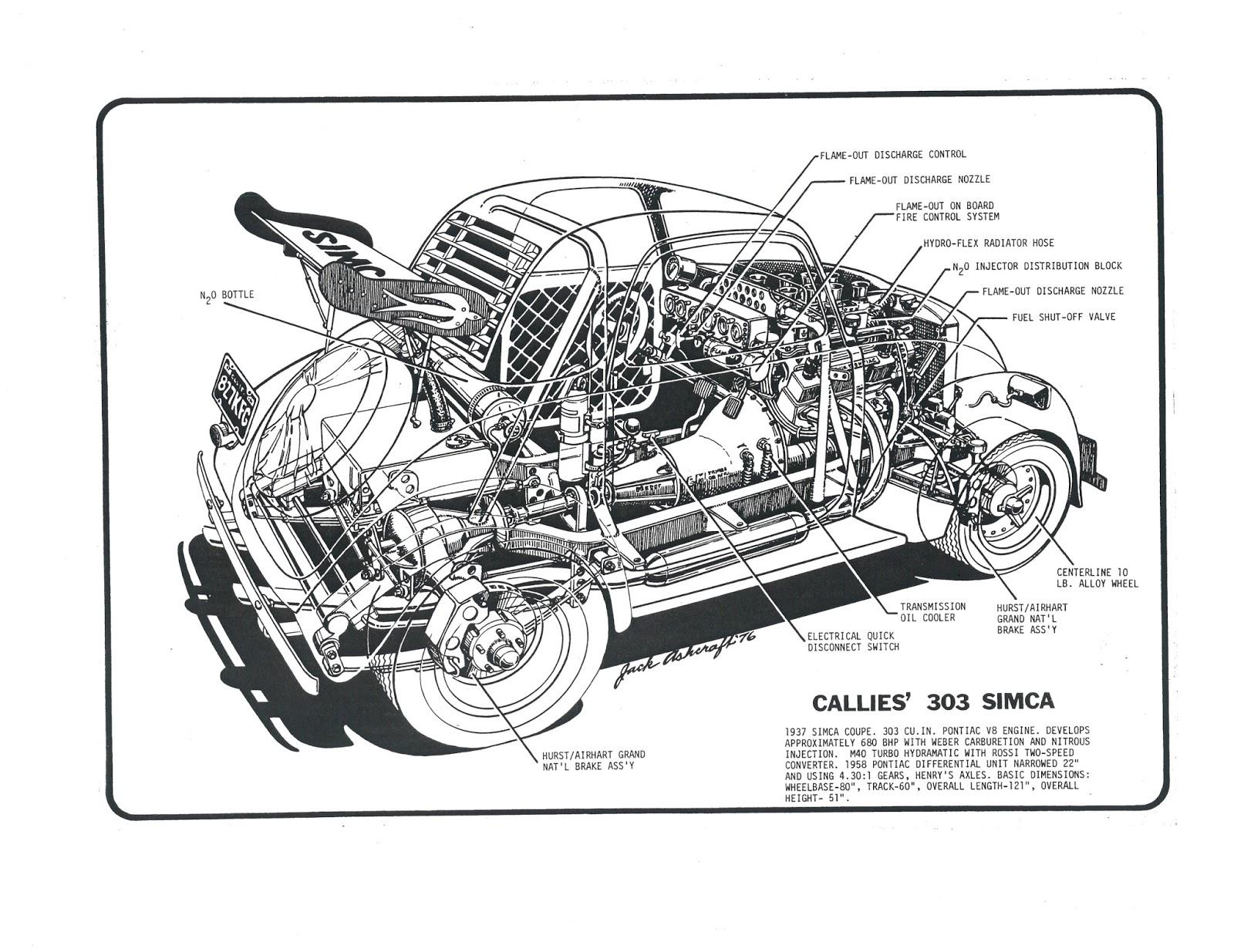 pontiac engine art