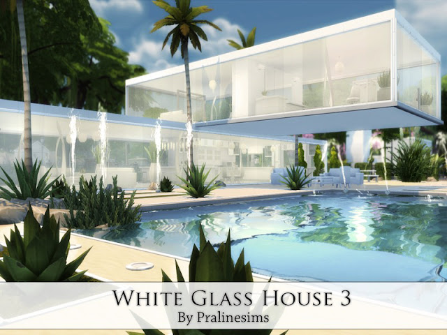Sims 4 Glass House