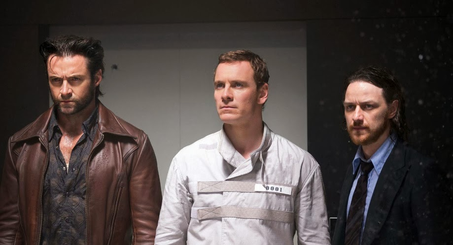 Hugh Jackman, Michael Fassbender and James Mcavoy