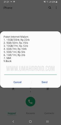 Kode Paket Malam Telkomsel 2019