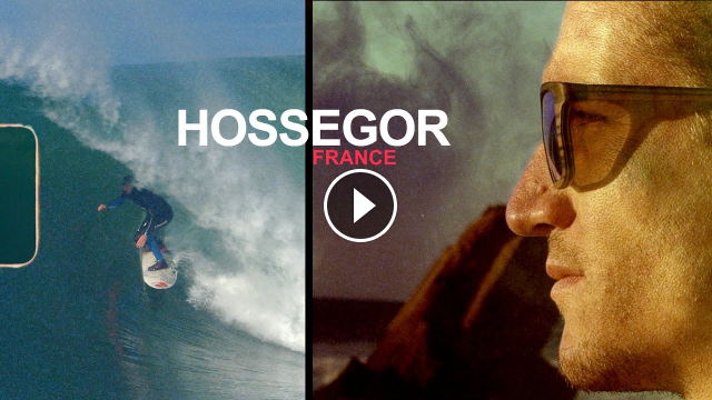 FREE SURF between HOSSEGOR CAPBRETON TRISTAN GUILBAUD