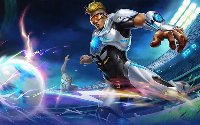 Bruno The Proctector Heroes Marksman of Skins Mobile Legends Wallpaper HD for PC