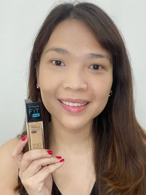 Maybelline FIT ME Foundation Swatches and Thoughts