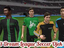 Kit Dream League Soccer Gojek (Seragam Ojek Online Uber, Grab)