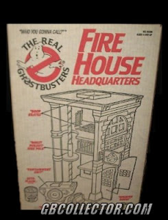 Kenner The REAL Ghostbusters Firehouse Headquarters Playset